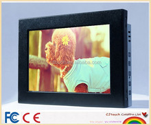 Wall mounting open frame touchscreen monitor,8 inch VESA touch monitor