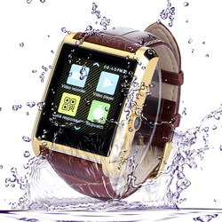 hot selling mobile watch phone new android 4.4 bluetooth smart smartband mobile watch phone with video call