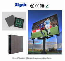 Make your own high refresh rate P6mm led street screen