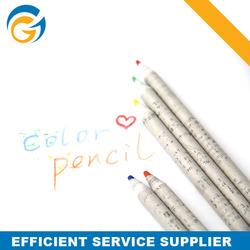 Eco-friendly Recyclable Paper Color Pencil Set for Sale