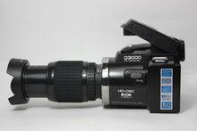 Digital Camera D3000 Digital Video Camcorder 16.0MP 3.0 TFT Display +16X Optical Zoom Telephoto Lens+Wide Angle Lens
