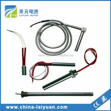 Cartridge Heater Element With Thread for Drilling Hole