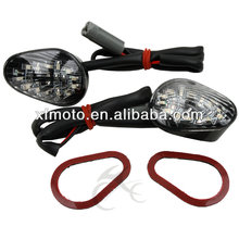 Clear Flush mount LED Signals For Yamaha YZF R6 YZFR6 2003-2012 04 05 06 07 08