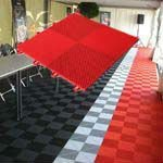 Sport patten shock absorber floor mats for portal