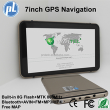 WinCE6.0 7Inch LCD Touch Screen Car GPS Navigation 8GB Bluetooth Canada free Map