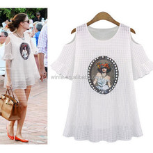 Popular hot sale spandex/cotton t-shirt women's tank tops