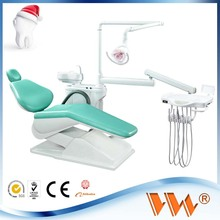wholesale wood packing most popular leather dental unit dental chair metal frame with fumigation-free pallet