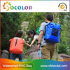 colorful Cellphone Waterproof Bag with shoulder straps for camping and swimsuit