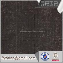 Black color new model flooring rustic tiles for hot sale