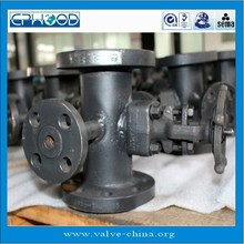 DN50 forged steel thermal insulation jacket valve for gate valve