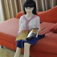 125cm new arriver pure adult toys silicone doll japan sex girl for boys