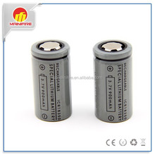 Mainifire li-ion 18350 battery high quality 900mah 3.7v 18350 battery with flat top icr 18350 rechargeable battery for ecig mods