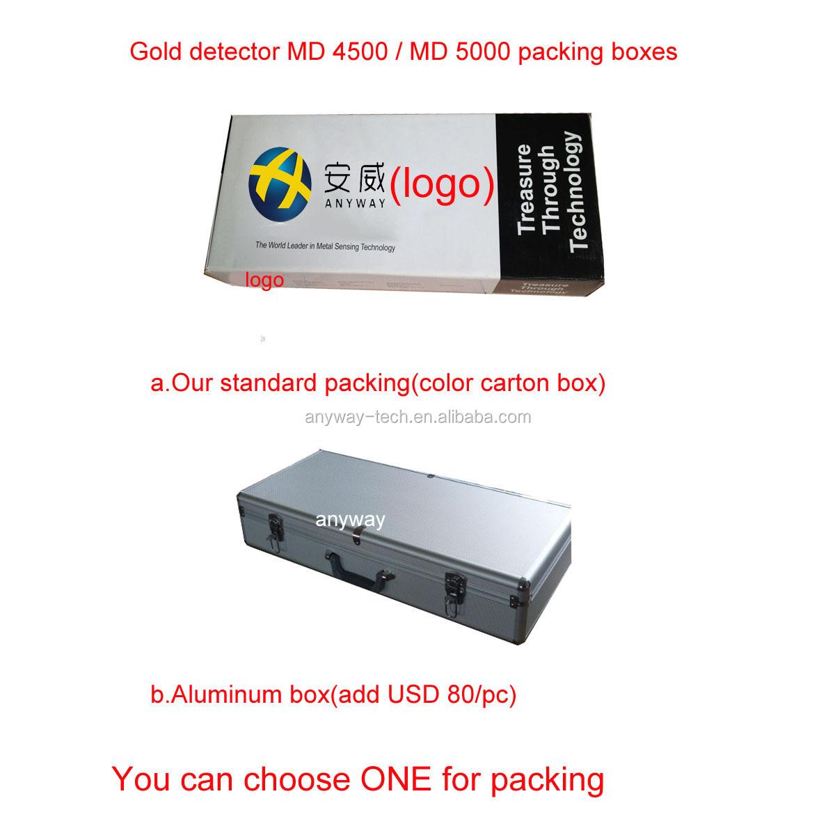 diamond detector MD4500 / MD5000 cheap metal detector