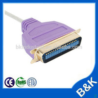 France market 36 pin usb to parallel ieee 1284 printer adapter cable for project