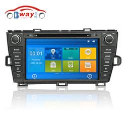 8 inch 256 MB RAM car radio for TOYOTA PRIUS (left) ( 2009-2013) car dvd player with GPS,Radio,bluetooth,steering wheel