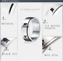 316L Stainless Steel Ring Setting