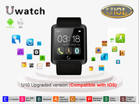 hot new products for 2015 U10L smart watch with bluetooth pedometer and sleep monitor.
