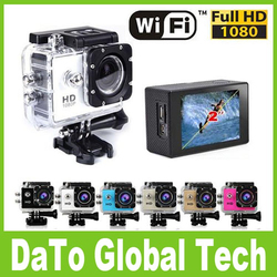 SJ6000 W9 Full HD 1080P 30M Waterproof Camcorder Sport DV Wireless Wifi Action Camera With 12.0MP