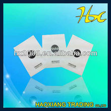 dry cleaning poly bags with adhesive tape