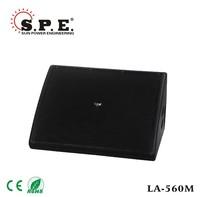 spe audio pa monitor speaker dual 12 inch audio stage monitor box universal turbo sound speaker