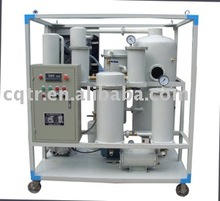 Tongrui zjd reciclaje de aceite usado/purificador de la máquina