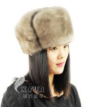 Venta al por mayor cx-c-24 china las niñas ruso de visón de piel sombreros y gorras