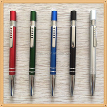 New designed hot selling metal gift ball pen with ring