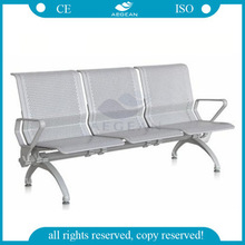 AG-TWC004 3-seat steel hospital waiting chairs good commercial seats