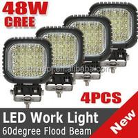 best Gold trade supplier of work light, High Power 48W square offroad LED Work Light car led work light