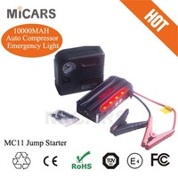 motorcycle battery charger lithium ion battery 12v MC11 jump starter mini air compressors