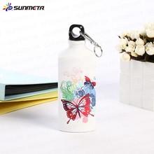 Sunmeta factory price 600ml sports bottle triangle shape sublimation sports bottle