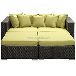 Rattan Outdoor Furniture Sofa bed