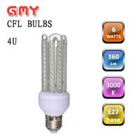 4U CFL bulb with long lifespan