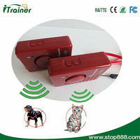 hot !!! electric ultrasonic strong dog repeller with LED light