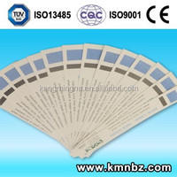 KMN Chemical Steam Indicator Cards Class 5