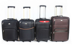 600D Hot SaleTrolley Luggage Semi-Finished Cheap Luggage