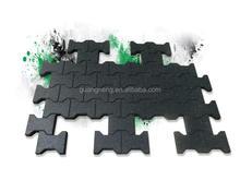 Blue Gym Martial Arts Karate Judo Floor Rubber Tile,Exercise Play Interlocking Rubber Tile Mats