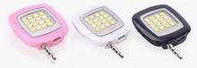 Fill-in light 16 Leds Spotlight Compact LED Selfie Flash Fill Light for Cell Phone