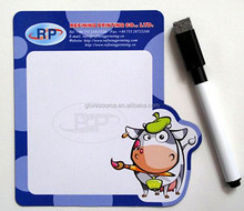 customising promotional paper white magnetic writing board