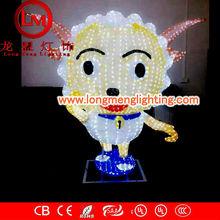 animals figure 3d motif lights,high quality decoration lights,CE,ROSH Approve