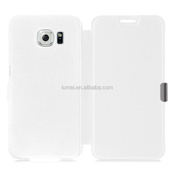 New Popular Flip Pu Leather Case Cover for Samsung Galaxy S6