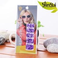 Personalized Fashion Design DIY rhinestone nail sticker