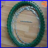 stainless steel razor barb wire roll price fence
