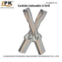 Internal Coolant Carbide U Drill