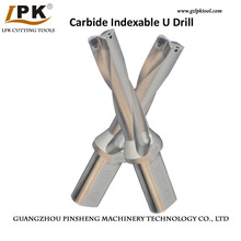 Internal Coolant Carbide U Drill