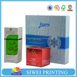 China products Custom Printing Paper folding cosmetic box packaging,cosmetic paper box best products for import