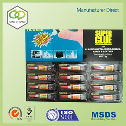 Professional manufacturer black super glue for wholesales