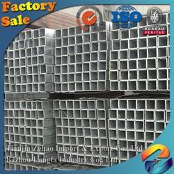 building materials galvanized steel pipe price per meter square/Rectangular/round/oval pipe