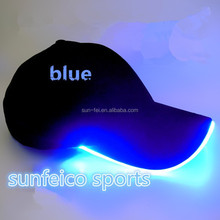 2015 New Arrival Led Baseball Cap Light Up Glow Rave Night Safety School Games~Great Idea For School Games