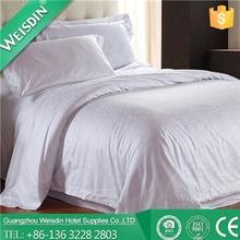 Plain Dyed fashion design bedding pieced jacquard duvet bed cover set